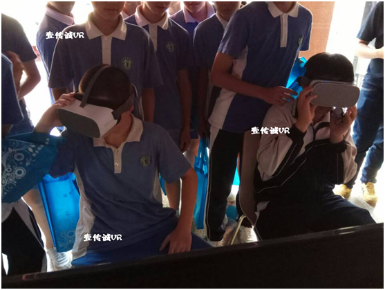 体验VR禁毒,争当禁毒先锋 ——壹传诚VR禁毒进校园活动