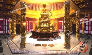 PC端 VR宗教信仰模拟