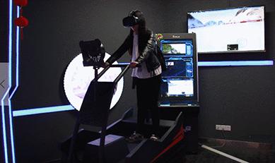 VR动感滑雪机