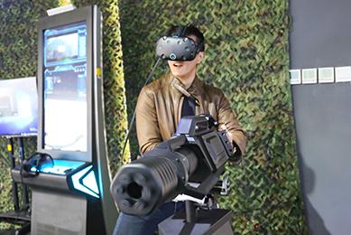 VR加特林机枪
