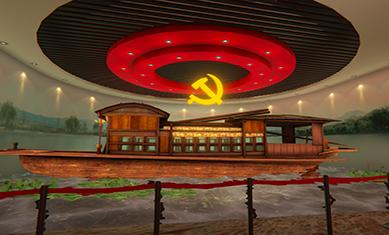 PC端 VR红色教育——党建篇