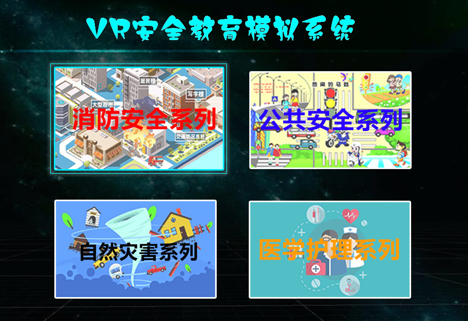 VR安全教育产品汇总