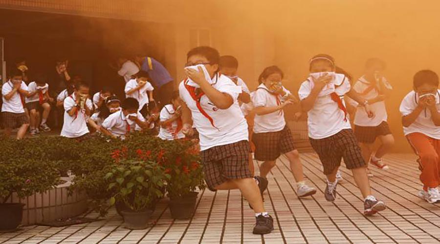 多场景灭火体验教育