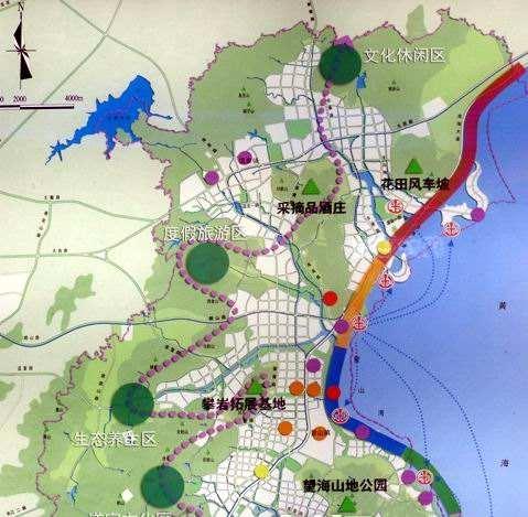 国内旅游规划案例之青岛海泉湾概念规划与城市设计