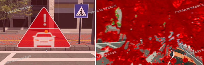 广州bob娱乐首页VR 虚拟交通安全体验 交通安全模拟系统 学生交通安全系统